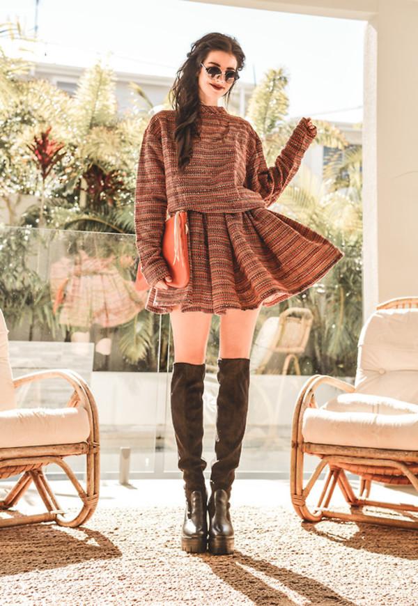 skirt skirt top summer outfits pretty streetstyle stylemoi