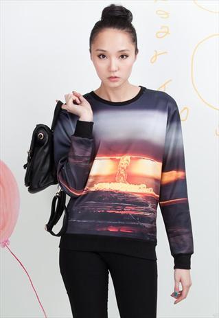 Unisex Couple Kaboom Sweatshirt   PoppyLovers   ASOS Marketplace