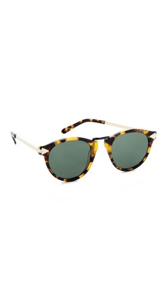 Karen Walker Helter Skelter Sunglasses | SHOPBOP