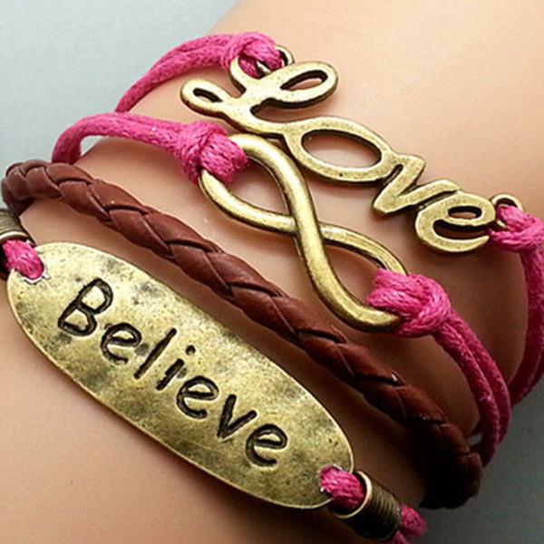 jewels bracelets believe chain