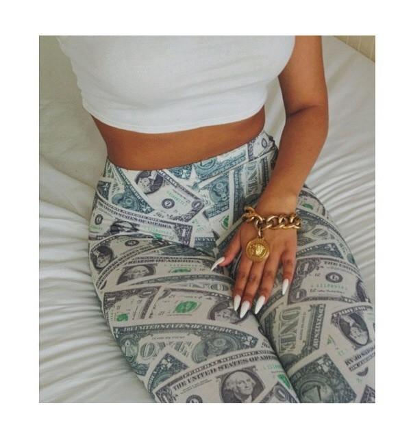 leggings money Money leggings high waisted leggings summer outfits