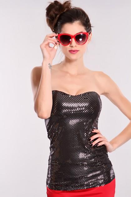 Silver Black Sequins Sweetheart Neckline Strapless Top @ Amiclubwear Top Shirt Clothing Online Store: Dress Shirt,Sexy Womens Shirt,T Shirts,Corset Dress,White T Shirt,Girl T Shirt,Short sleeve top,Sexy Shirts,Hawaiian Shirts,Cute Tops,hawaiian aloha shir