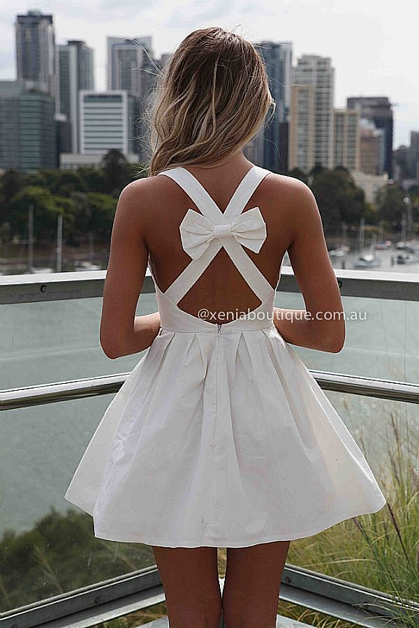 BLESSED ANGEL DRESS , DRESSES, TOPS, BOTTOMS, JACKETS & JUMPERS, ACCESSORIES, SALE, PRE ORDER, NEW ARRIVALS, PLAYSUIT, COLOUR,,White,CUT OUT,BACKLESS,SLEEVELESS Australia, Queensland, Brisbane