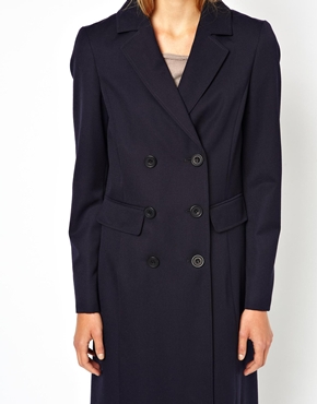 Cooper & Stollbrand | Cooper & Strollbrand Masculine Double Breasted Coat at ASOS