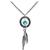 Handcrafted Dreamcatcher Necklace MADE WITH SWAROVSKI ELEMENTS | Body Candy Body Jewelry