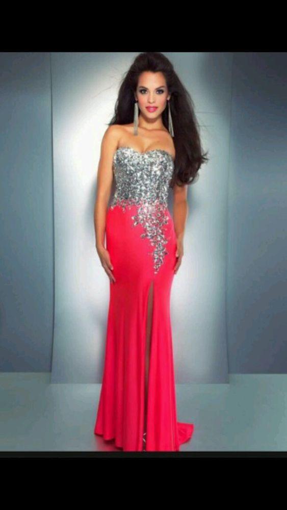 Cassandra Stone Mac DUGGAL Pink Prom Dress Style 85152A Size 6 | eBay