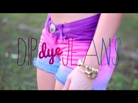 Tutorial: Dip Dye - Tie Dye (All languages subtitles) - YouTube
