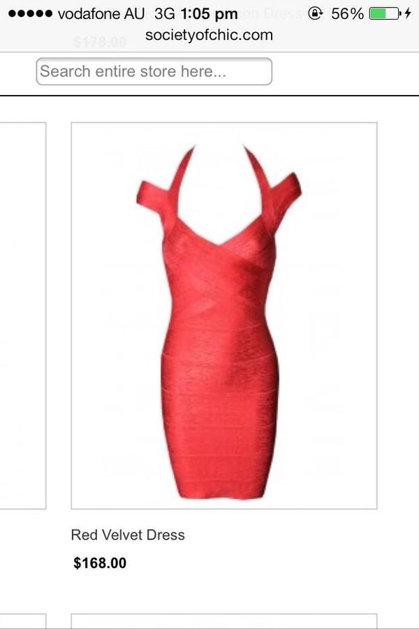 red dress bandage dress formal dress dress sexy
