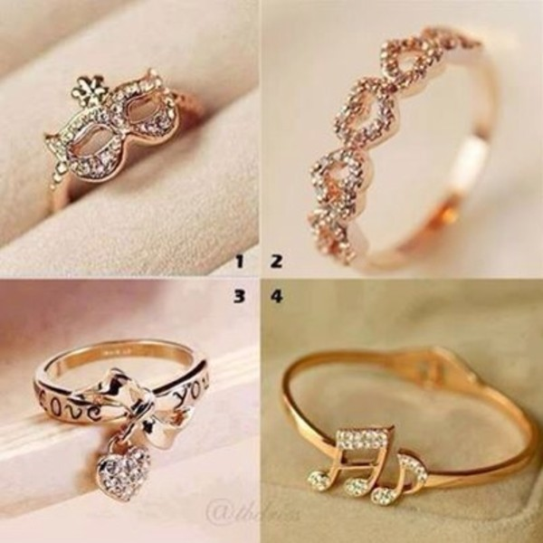 jewels classy cute sparkle ring