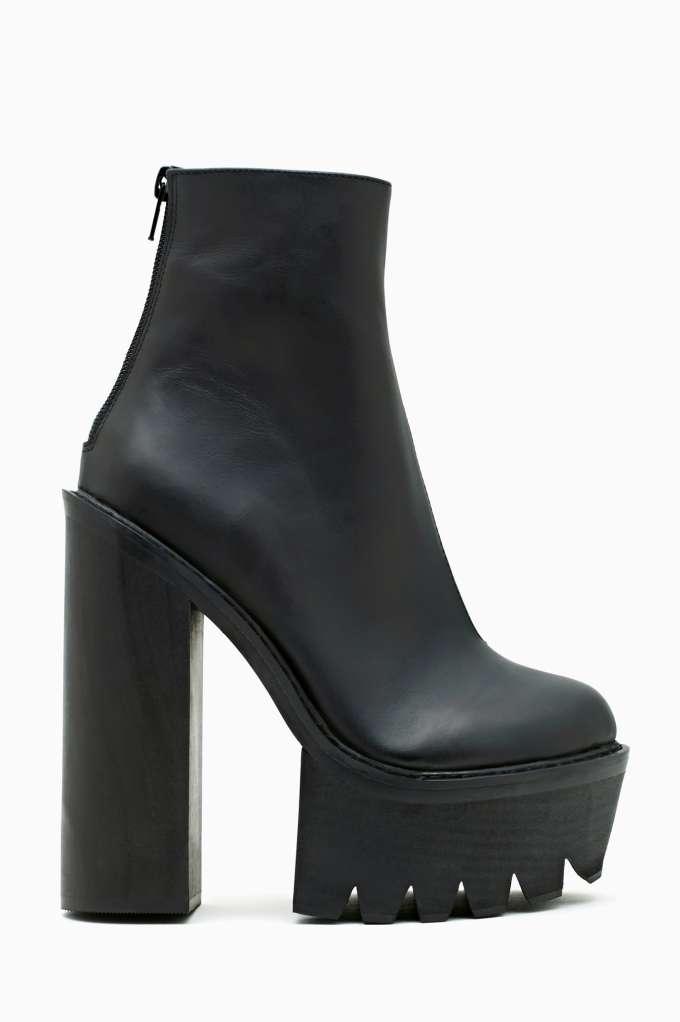 Jeffrey Campbell Mulder Platform Boot in  Shoes at Nasty Gal