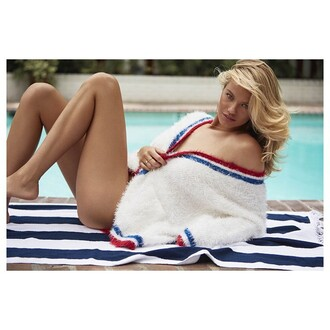 cardigan unif american look red white and blue revolve clothing revolveme white long sleeves america red white blue