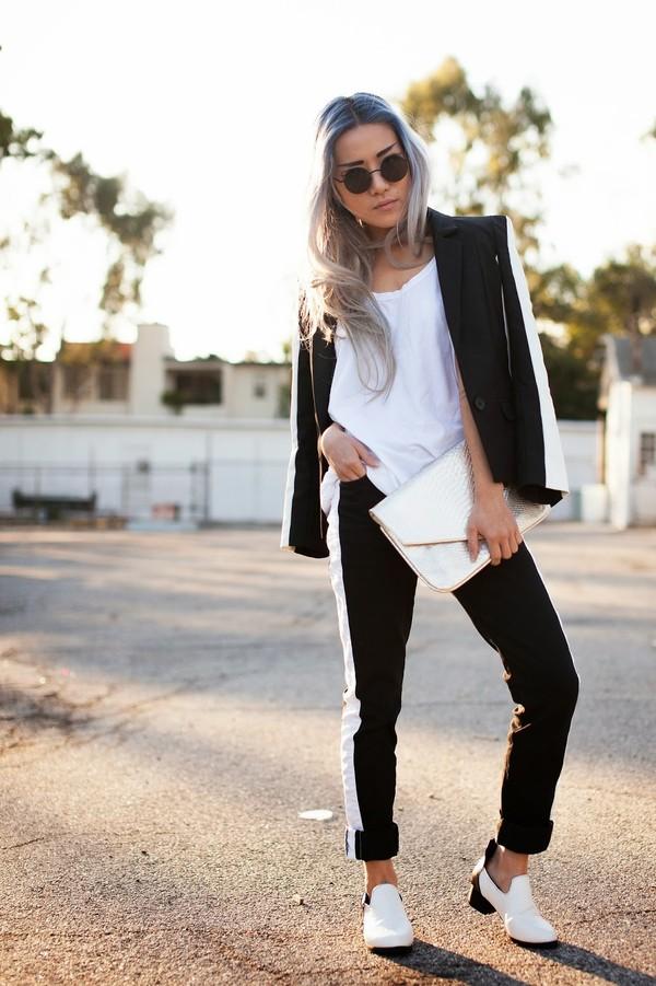 feral creature jacket t-shirt jeans shoes sunglasses bag