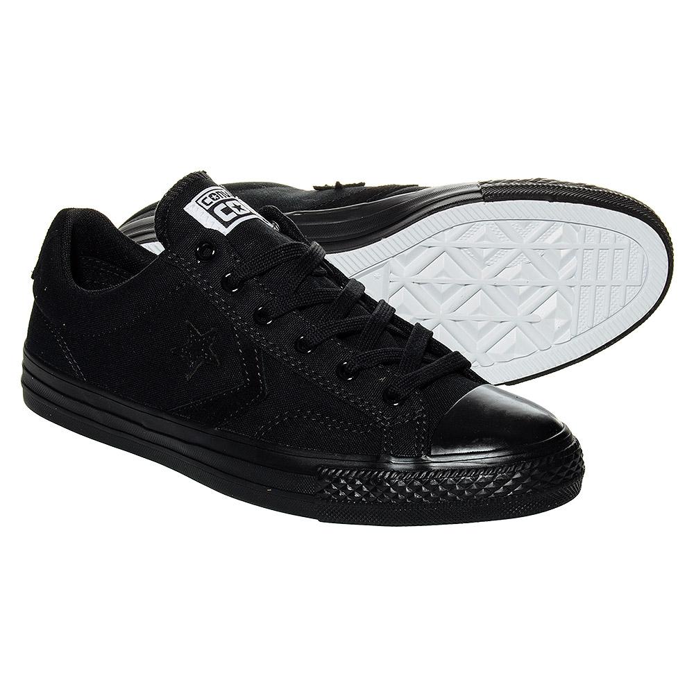 Converse Star Player Mono Shoes (Black) | Blue Banana UK
