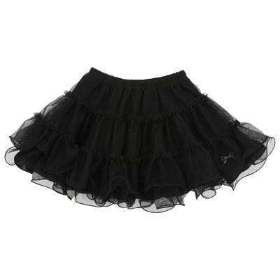 Lili Gaufrette Black tulle skirt Black - 53855 | Melijoe.com