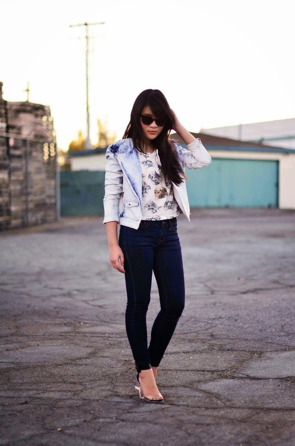 daily disguise jacket t-shirt jeans shoes