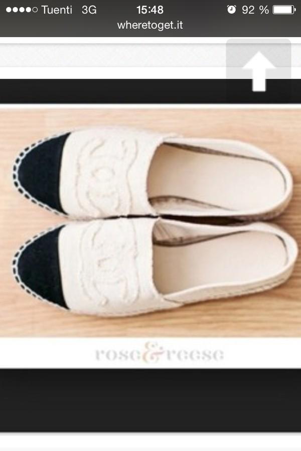 shoes chanel espadrilles