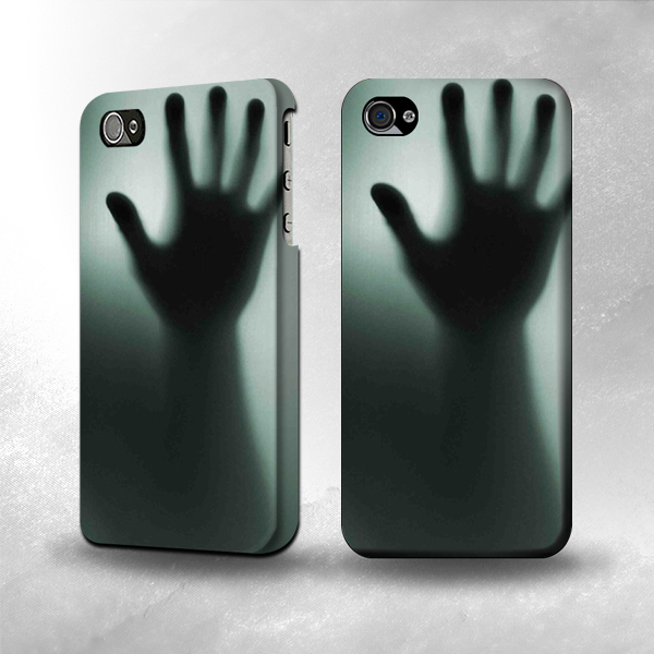S0424 Glass Hand Shadow Case Cover for iPhone 5 5S Screen Protection Film | eBay