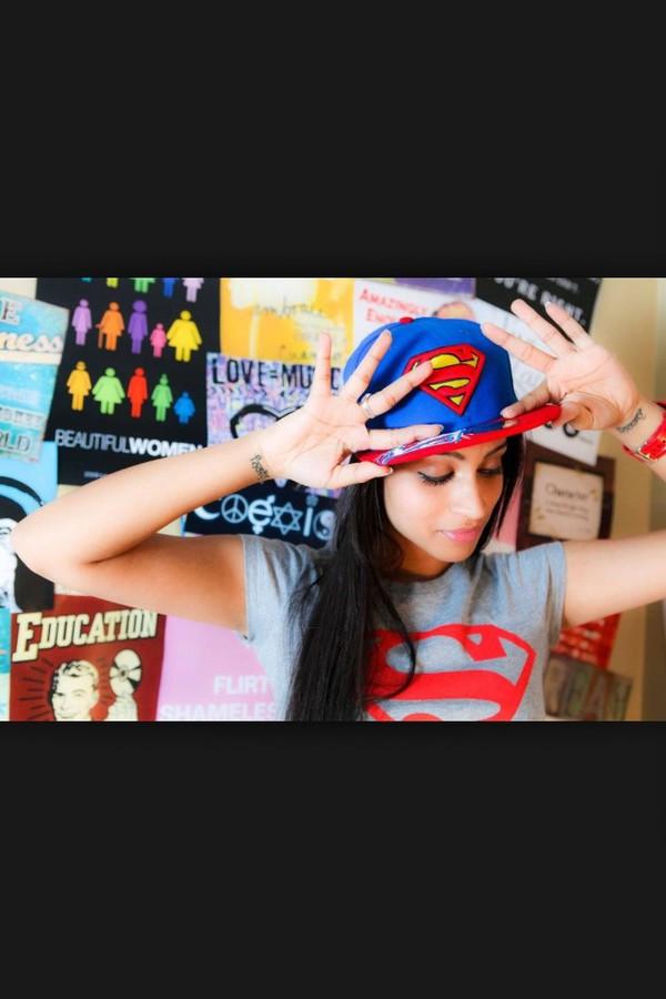 hat superman hat superman shirt iisuperwomanii superwoman