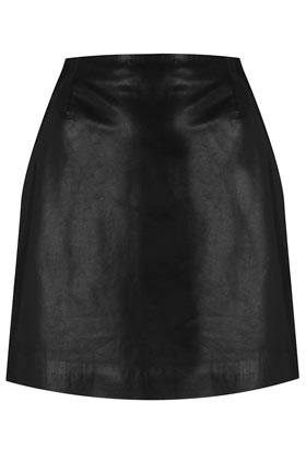 Leather Skirt By Boutique - Skirts  - Clothing  - Topshop