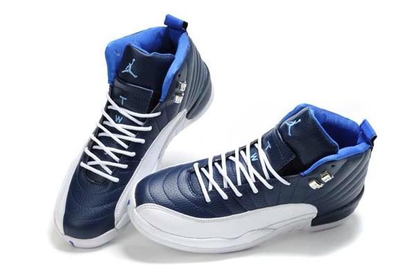 shoes jordans blue white