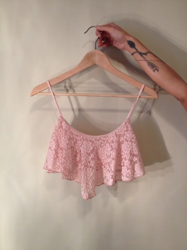 shirt lace flowy top crop tops