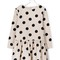 Knot polka dots dress, toddler girl's, size: 3 yrs, grey