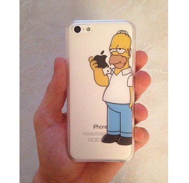 phone cover the simpsons style phone cover