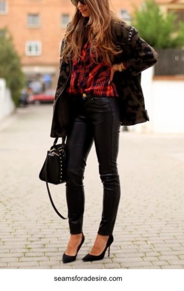 jeans shoes blouse