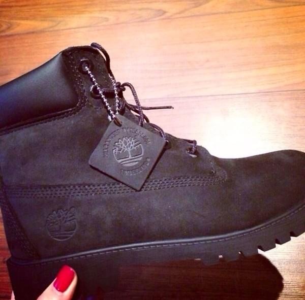 shoes black timberlands black timberlands all black everything
