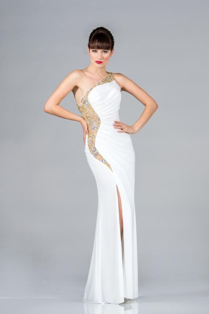 One Shoulder Chiffon Elegant Stunning Homecoming Regal Red Carpet Prom Dress | eBay
