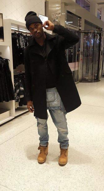 jumpsuit black is beautiful fashion killa menswear urban menswear mens ripped jeans