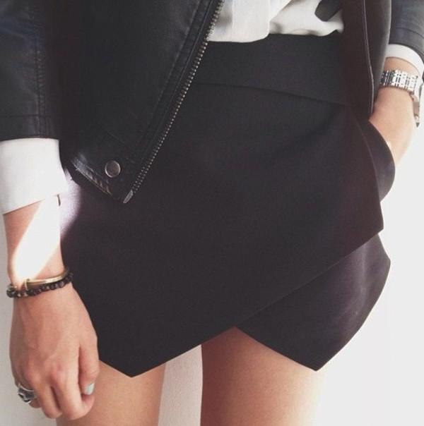 shorts skorts asymmetrical skort skorts orange skort black white short summer asymmetrical skirt