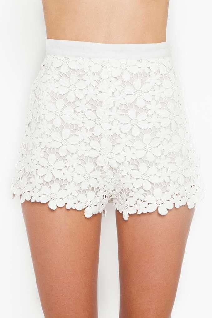 Daisy Crochet Shorts | Shop Clothes at Nasty Gal