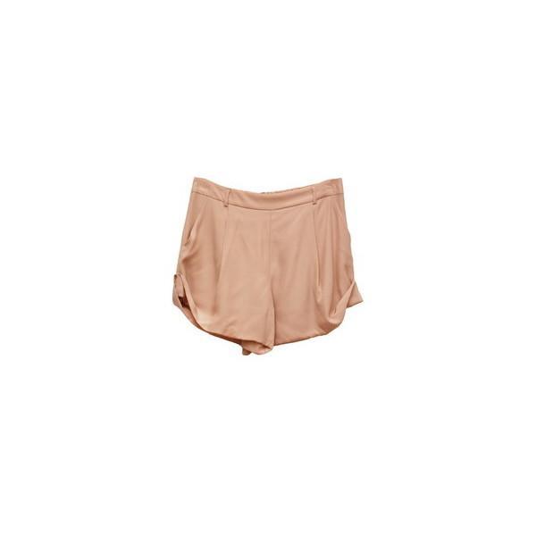 Sykes Silk Matt Nude Short - TOPS - Rous Iland - Polyvore
