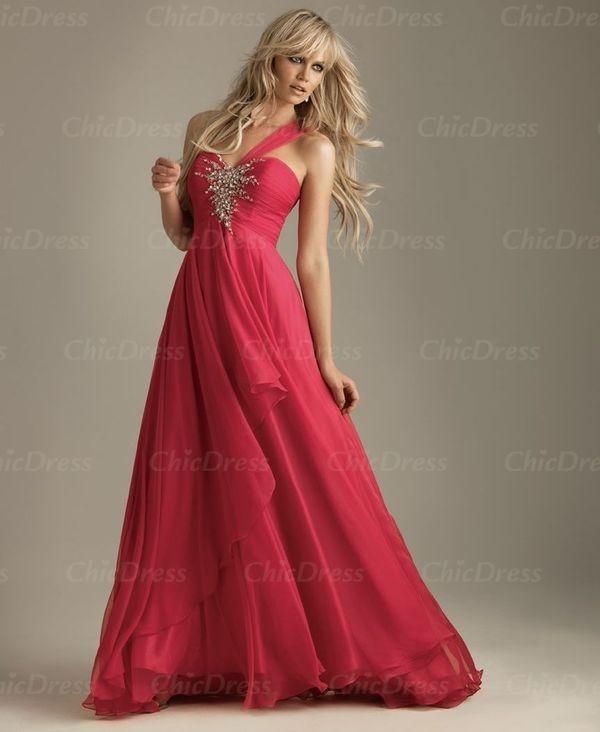 dress one shoulder dress long prom dress prom dress