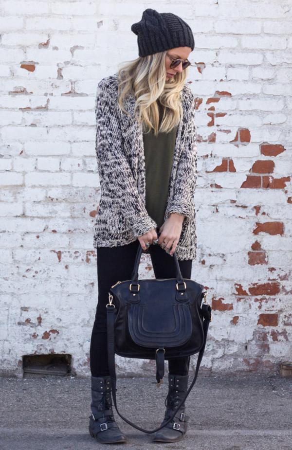 bag purse handbag crossbody bag black leather