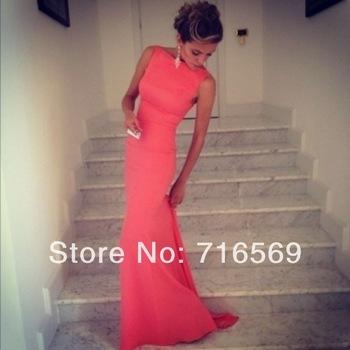 Aliexpress.com : Buy Vestidos formales 2014 New design High neck Mermaid black Evening dress floor length Formal gowns New party dress Custom BO2998 from Reliable dress winter suppliers on Suzhou Babyonline dress Co.,LTD