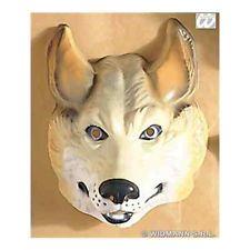 Childs Kids Boys Plastic Wolf Mask Fancy Dress Costume | eBay