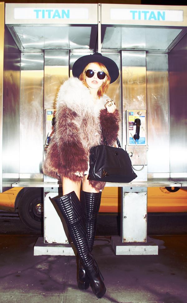 i hate blonde t-shirt coat shoes sunglasses