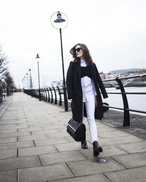 anouska proetta brandon t-shirt shirt jeans shoes coat sunglasses