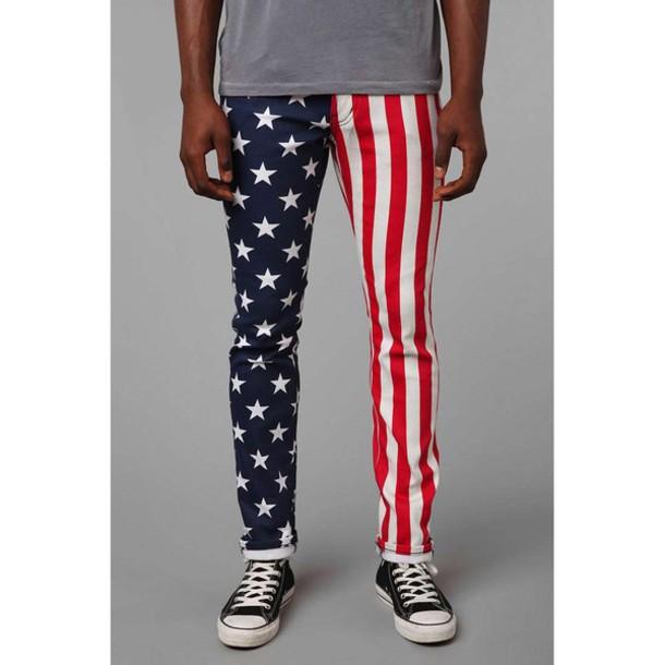 pants american flag american flag jeans american flag pants