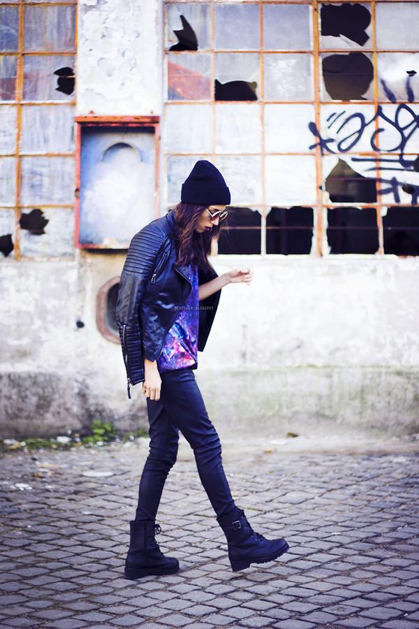 mexiquer sunglasses jacket sweater pants shoes