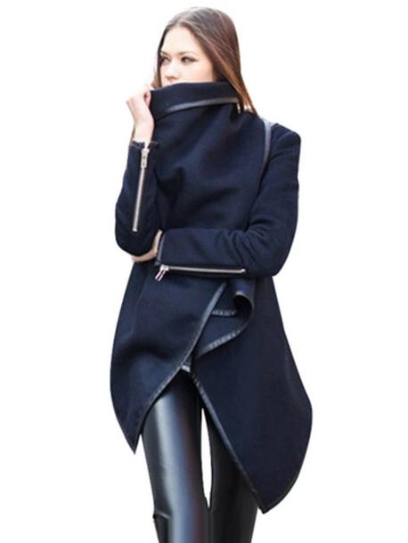 coat patch blends women vue boutique