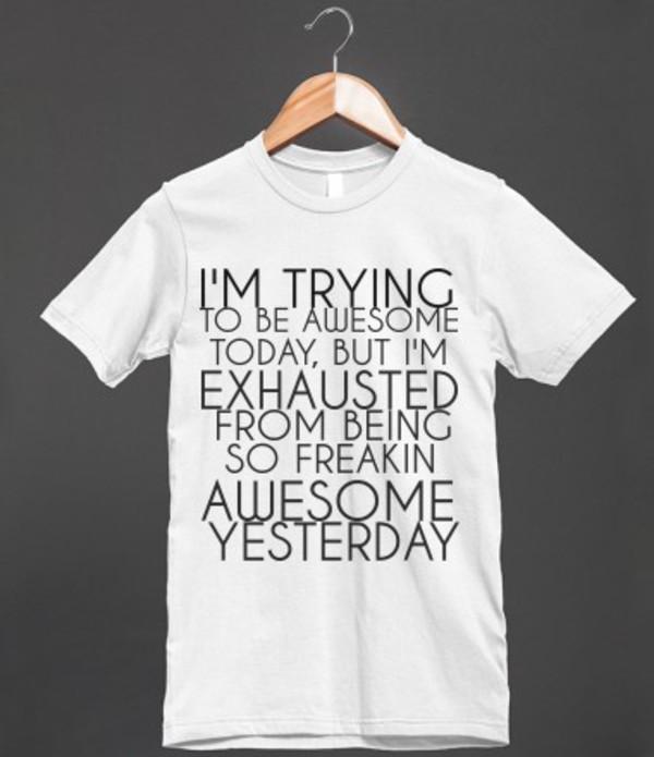 t-shirt funny awesome shirt t-shirt funny funny shirt