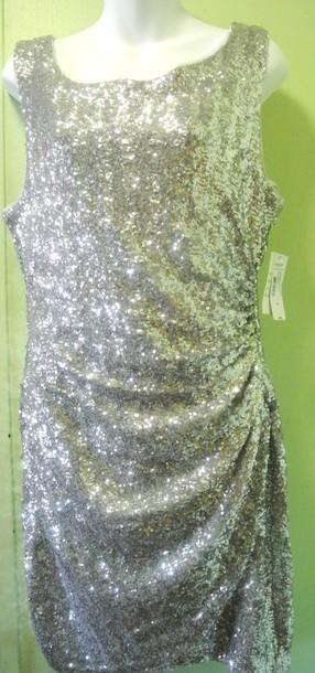 dress bisou bisou squin sparkling dress