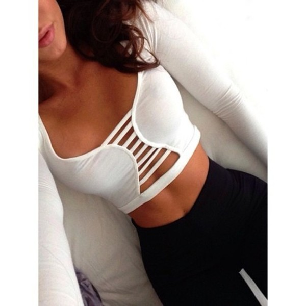 top white crop tops lovely white crop tops sexy black black jeans high waisted jeans