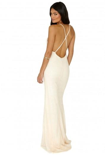 Skaila Sequin Maxi Dress - Dresses - Maxi Dresses  - Missguided