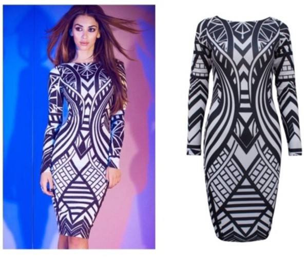 dress black white dress maxi dress