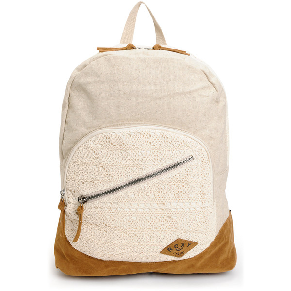 Roxy Lately Pearl Crochet Backpack - Polyvore