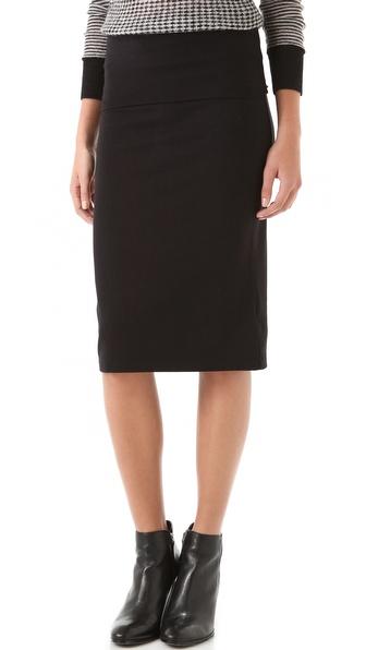 Splendid Fold Over Pencil Skirt  SHOPBOP   Save up to 25% Use Code BIGEVENT13